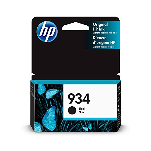 HP 934 Black Original Ink Cartridge (C2P19AN)
