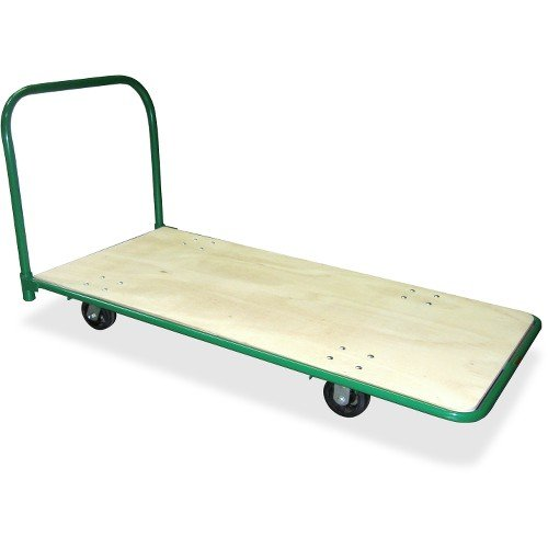 Sparco Heavy-Duty Platform Truck, 1400 lbs, Capacity, 30 x 60 x 32 Inches, Green ()