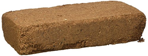 Galapagos (05001) Invertebrate Tropicoco Soil, Natural, 8qt Compressed Brick by Galapagos