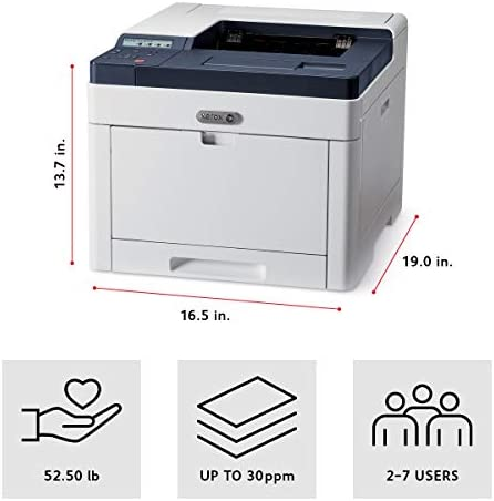 Xerox Phaser 6510/DNI Color Printer, Amazon Dash Replenishment Ready 41qNVbmUs9L