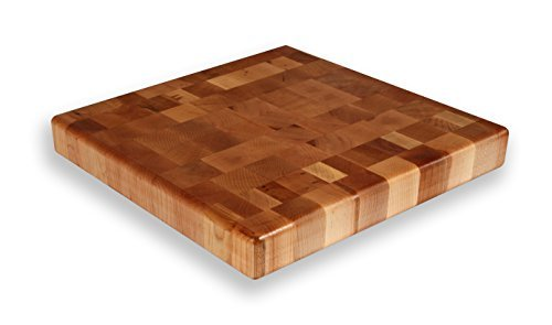 Maple End Grain Chopping Block 15 x 15 x 2 by Michigan Maple Block
