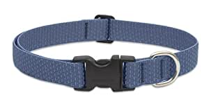 "LupinePet Eco 1"" Mountain Lake 16-28"" Adjustable Collar for Large Dogs"