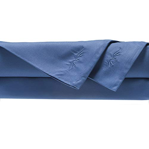 BedVoyage 100% Rayon/Viscose from Bamboo King Sheet Set in Indigo