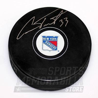 Cam Talbot New York Rangers Signed Autographed Rangers Hockey Puck by Your Sports Memorabilia Store