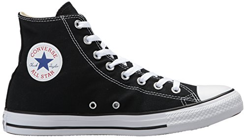 Converse Jungen CTAS-Hi-Black-Unisex High-Top Schwarz