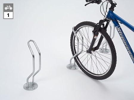 Soporte para bicicletas - suelo Parker 3110 - 1 A un lado de ...