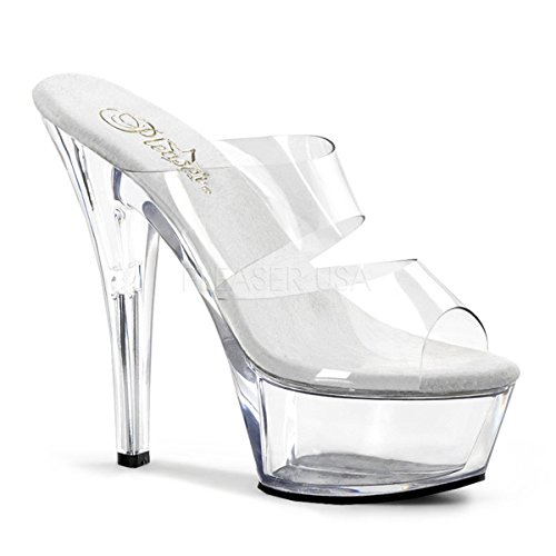 Clear Shoes 202 KISS PLEASER Transparent Ladies Hell Sandal StIgCnqwx