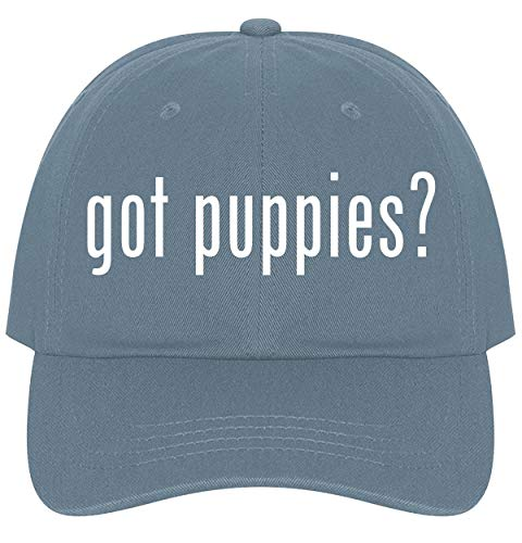 The Town Butler got Puppies? - A Nice Comfortable Adjustable Dad Hat Cap, Light Blue