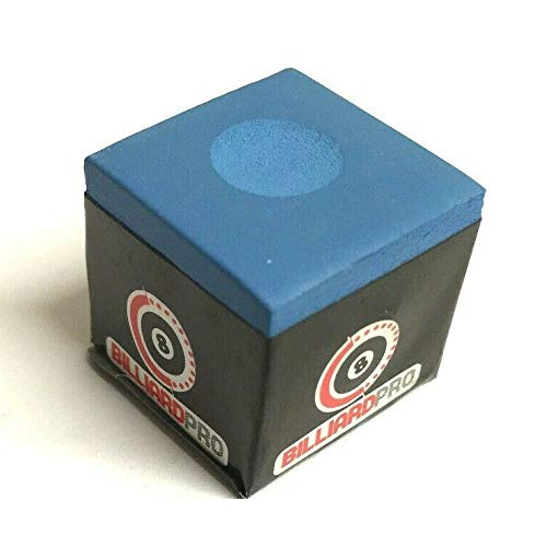 cueball16 2 Pieces of Tournament BLUE Snooker or Pool Cue Tips Chalks