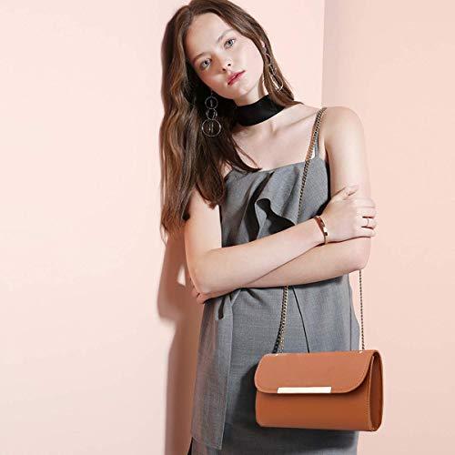 Fargo PU Leather Latest Stylish Handbags For Women's Ladies Combo Of 3 (Brown_Teddy_FGO-240)