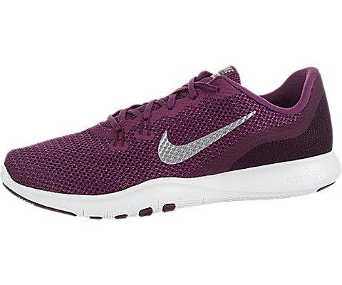 - Nike Women's Flex TR 7 Training Shoe Tea Berry/Metallic Silver/Bordeaux Size 9 M US