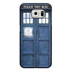 Samsung Galaxy S6 Case, Customized Doctor Who Police Call Box Black Hard Shell Samsung Galaxy S6 Case, Doctor Who Galaxy S6 Case(Not Fit for Galaxy S6 Edge)