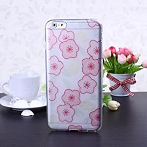 JJE Small Flowers Pattern TPU Soft Case for iPhone 6 Plus