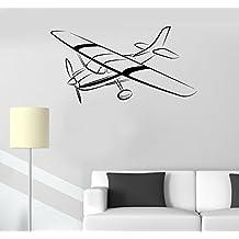 Wall Stickers Air Force Aircraft Kids Room Plane Art Mural Vinyl Decal (ig2639)