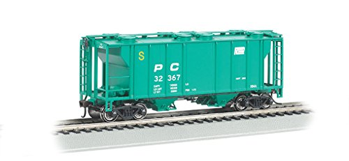 Bachmann Industries PS-2 Penn Central Two-Bay Covered Hopper Vehicle (HO (Scale Ps2 Covered Hopper)