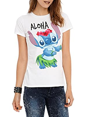 Disney Lilo & Stitch Aloha Girls T-Shirt 2XL