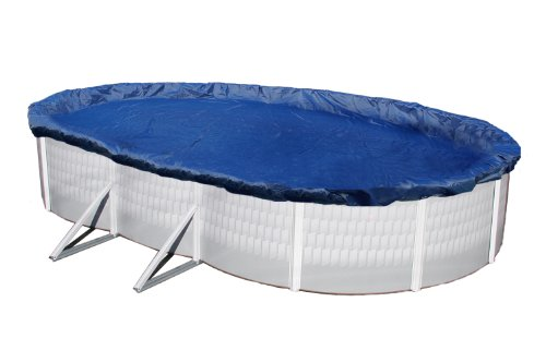 - Blue Wave Gold 15-Year 12-ft x 24-ft Oval Above Ground Pool Winter Cover