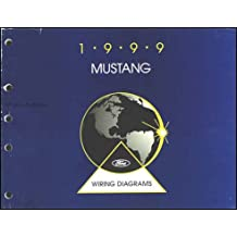 1999 Ford Mustang Wiring Diagram Manual Original