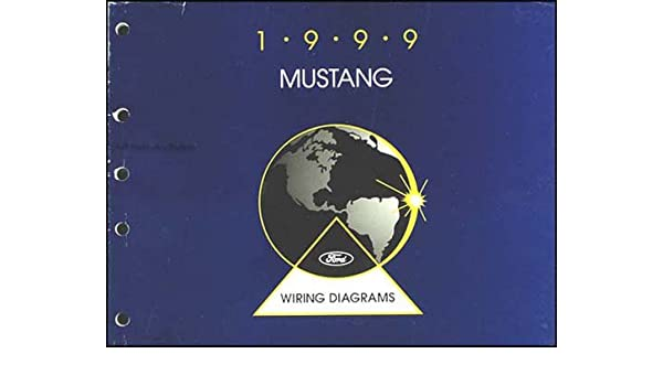 1999 ford mustang wiring diagram manual original paperback bunko – 1999