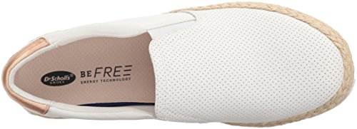 Dr. Scholls Mujeres Madi Yute Sneaker White Perforated