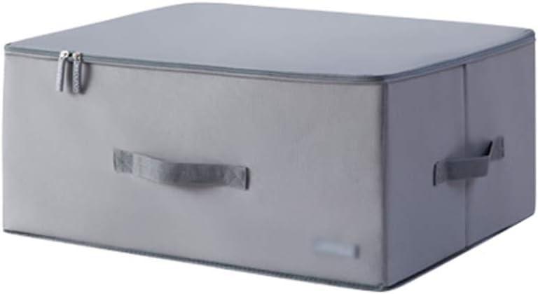 Caja De Almacenamiento De Ropa, Caja De Almacenamiento De Tela Con Tapa, Caja De Almacenamiento De Edredón Grande ...
