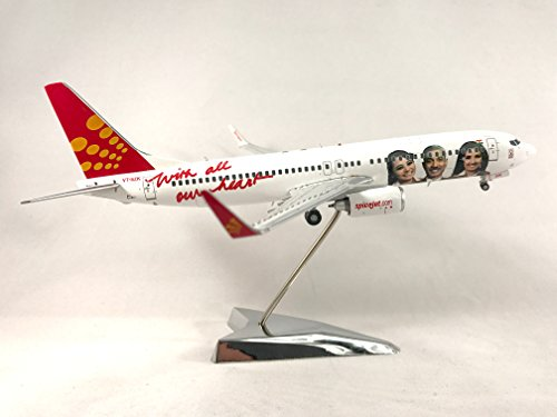 800 Diecast Airplane Model VT-SZK With Stand 1:200 Scale (Employee Logo Jet) Part# G2SEJ432 ()