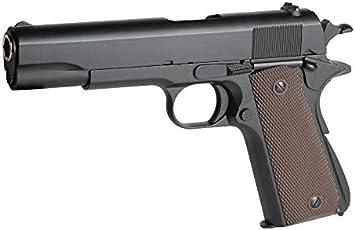 GOLDEN EAGLE Pistola Gas 1911 A1 Clasica Color Negro