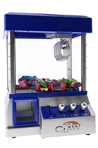 The Claw Toy Grabber Machine with Bright LED Lights and Playing Music - Insert Coins for Real Arcade Play & Sounds