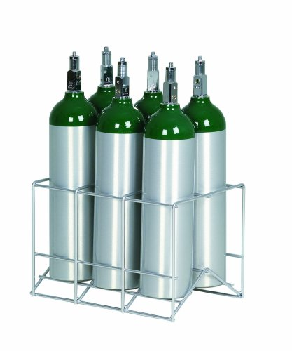 Assembly M6 Cylinder (6 Cylinder Metal Rack for M6 Oxygen Cylinders)