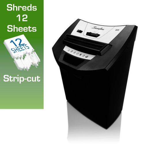 Swingline SC170 Strip-Cut Shredder, 12 sheets, 1 User (1757250)