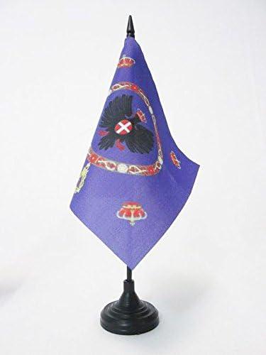 Piccola BANDIERINA del Regno Italiano 15 x 15 cm AZ FLAG Bandiera da Tavolo STANDARDO Reale DELLITALIA 1880-1946 15x15cm
