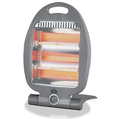 Estufa eléctrica al cuarzo con 2 barras para el baño, no halógena: Amazon.es: Bricolaje y herramientas