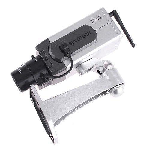 SODIAL ( R )ワイヤレスダミーフェイク監視IPカメラモーション検知LED監視Webカメラ B072FW5MS4