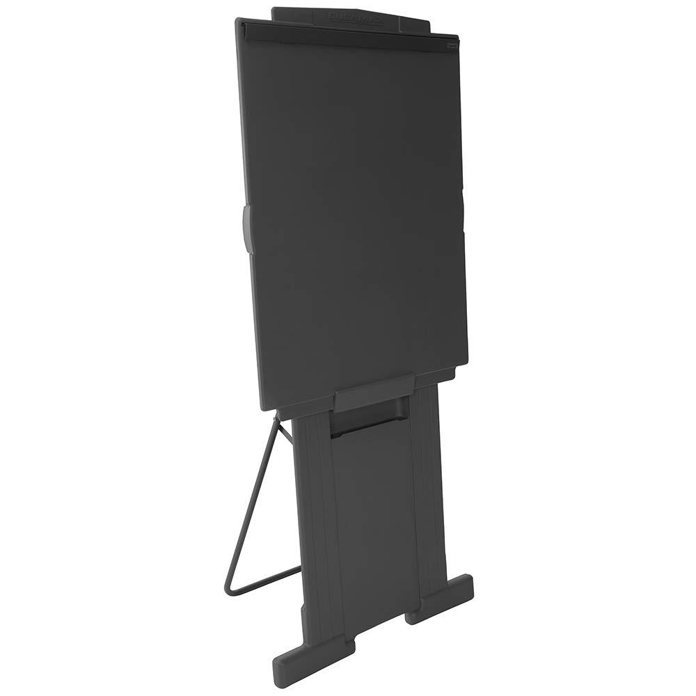 Quartet Easel, Adjusts 39'' to 72'' High, Collapsible, Portable, Whiteboard, Flipchart Holder, DuraMax Presentation, Black (201E)