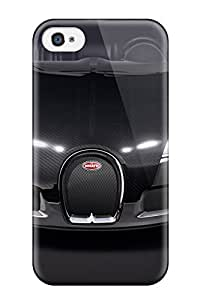 Hot Tpu Cover Case For Iphone/ 4/4s Case Cover Skin - Bugatti Vehicles