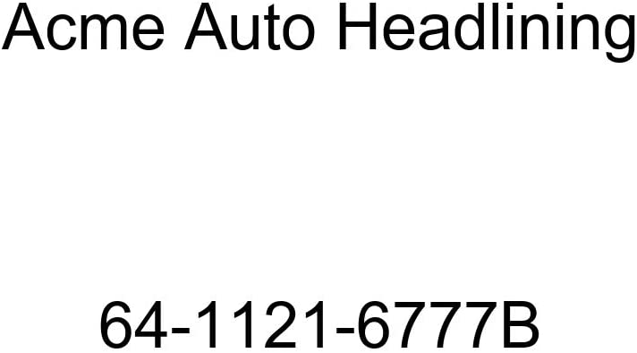 Acme Auto Headlining 64-1121-6777B Red Replacement Headliner Buick Special 2 Door Coupe