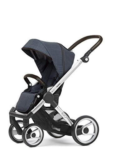 Mutsy Evo Farmer Edition Stroller, Silver Chassis/Farmer Shadow For Sale