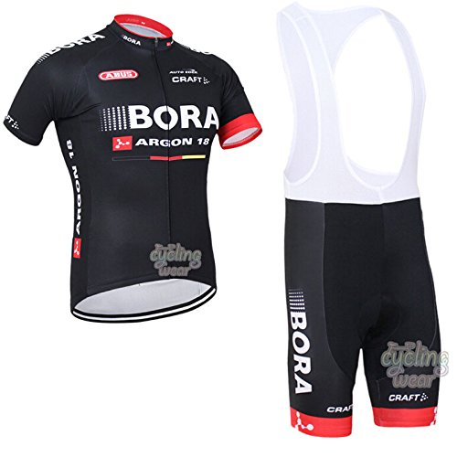 ETBO 2016 Bora Argon Cycling Jersey Maillot Ciclismo Short Sleeve and Cycling bib Shorts Cycling Kits Strap cycle jerseys Ciclismo bicicletas