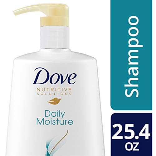 DOVE HAIR Nutritive Solutions Daily Moisture Shampoo With Pump, 25.4 Ounce Dove Moisturizing Shampoo Conditioner
