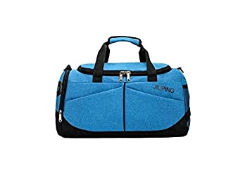 7f0c0b99ae Image Unavailable. Image not available for. Colour: AGOPO Rucksack Outdoor  Large Capacity Nylon Gym Bag Sports Holdall Travel Weekender Duffel Bag for  Men