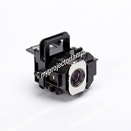 Replacement projector lamp for Epson V13H010L49, ELPLP49