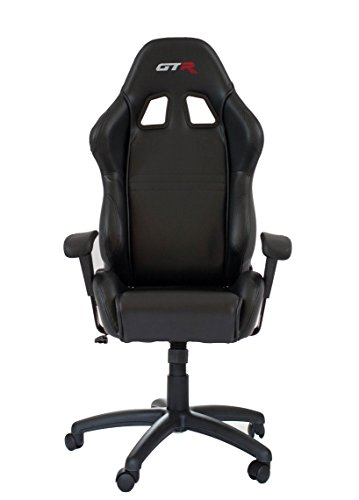 Gtr Simulator Oc105lbk Large Size Big And Tall Computer Chair Gaming Chair High
