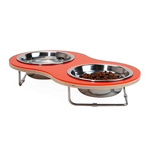 - Drip Module DRIPMODULE 0311-OR Peanut Pet Feeder, Orange
