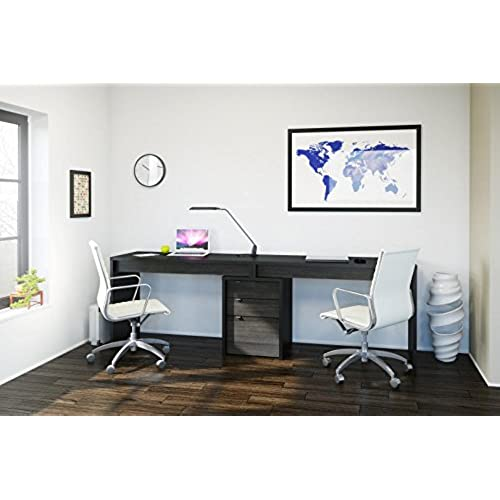 Merveilleux Sereni T Home Office Kit With Two Reversible Desk Panels