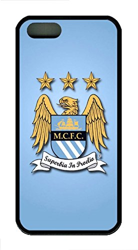 Generic Manchester City Football Club Logo Back Case for iPhone 5/5S