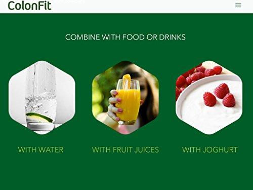 COLONFIT - COLON IRRITABLE, Alivio de Gases e Hinchazón con Probióticos, Prebioticos y Fibra. Desintoxicación de Sistema Digestivo, Limpieza del Colon y un ...