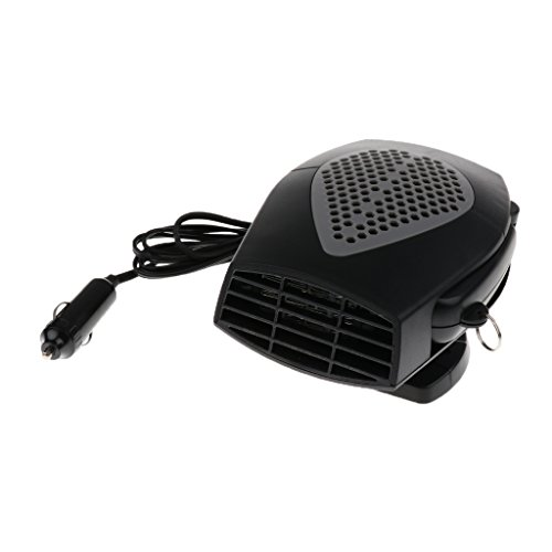 Dolity 2 in 1 12V Car Truck Heater Hot Cool Fan Window Demister Defroster - Black by Dolity (Image #9)