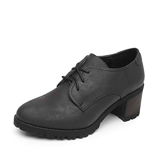 PUMPS Damen High Heels,Rau, Tief Schuhe Nehmen-A Fußlänge=23.3CM(9.2Inch)