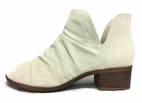 Soda Womens Scrunch Ankle Bootie product image