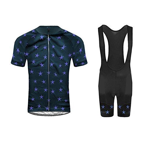 (Uglyfrog New Summer Cyling Set Short Jersey +Bib Shorts Triathlon Wear Brief Professional Classic Retro MTB Bicycle Clothes)